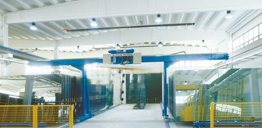 vetrate industriali